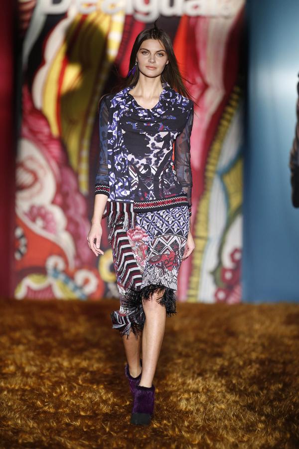 Catwalk Mercedes-Benz Fashion Week Madrid OI2015